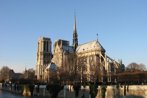 The cathedrale Notre Dame